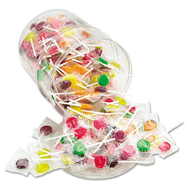 Assorted Lick Stix Candy Suckers (220 pcs.)
