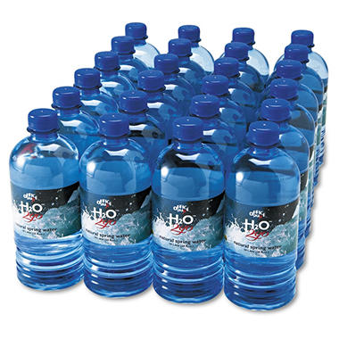 100% Natural Bottled Spring Water - 24/ 20 oz.