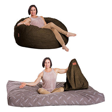 CordaRoys Bean Bag Chair Terry Corduroy Assorted Size And Colors