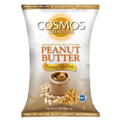 Cosmos Creations Peanut Butter Premium Puffed Corn (27 oz.)