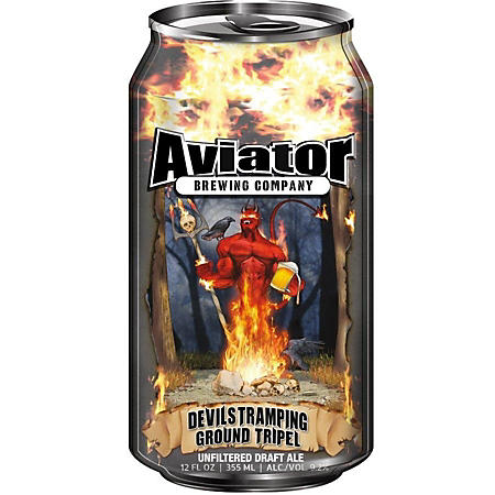 Aviator Devil's Tramping Ground Tripel Ale (12 fl. oz. can, 4 pk.)