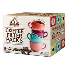 Charlie Bean Colombian Coffee Filter Pack (1.75 oz., 24 ct.)