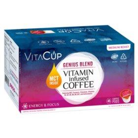 VitaCup Genius Blend Coffee Pods (45 ct.)