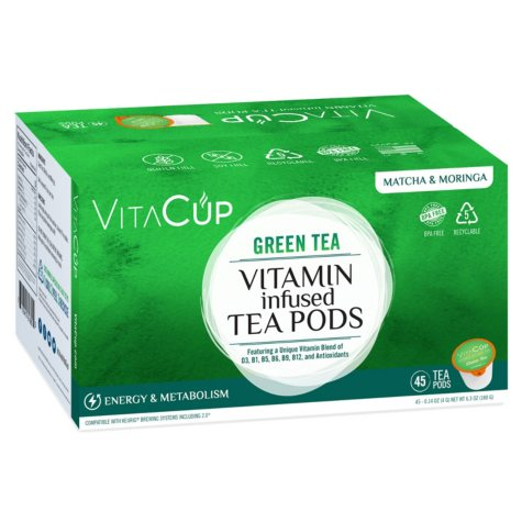 VitaCup Green Tea Pods (45 ct.)
