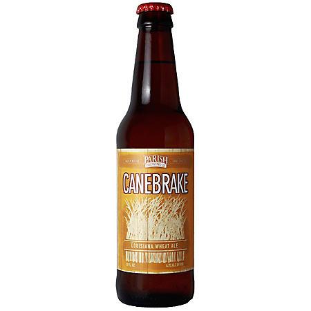 Parish Canebrake Wheat Ale (12 fl. oz. bottle, 6 pk.)