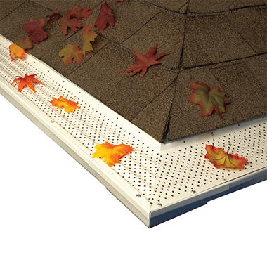 GutterLock Diamond Premium Gutter Protection (Various Sizes and Colors)