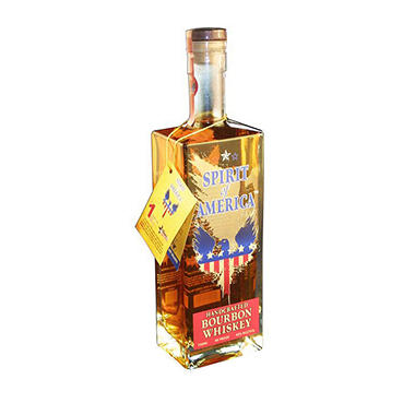Spirit of America Handcrafted Bourbon Whiskey (750 ml)