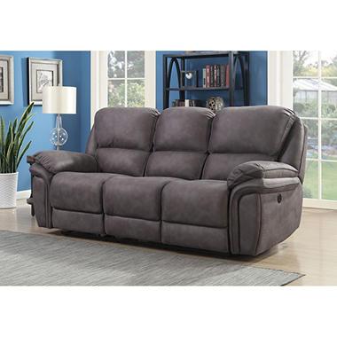 Mason Three Seat Dual Power Reclining Sofa