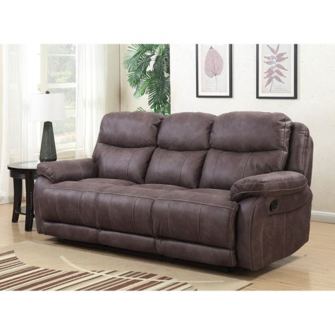 Stewart Three-Seat Dual Reclining Sofa