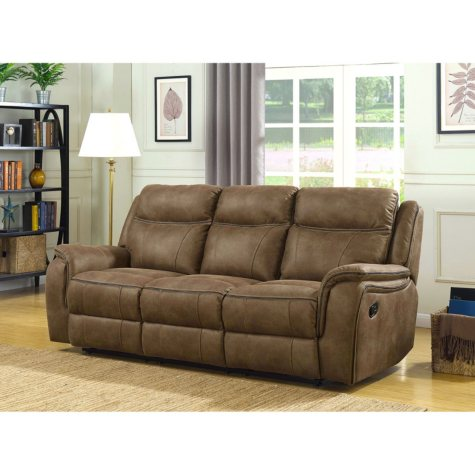 Ronald Three-Seat Dual Reclining Sofa