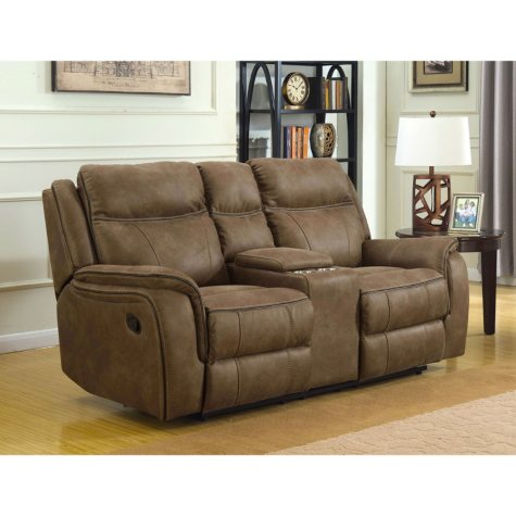 Ronald Dual Reclining Console Loveseat