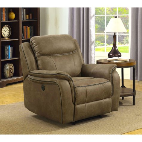 Ronald Power Recliner with Power Adjustable Headrest