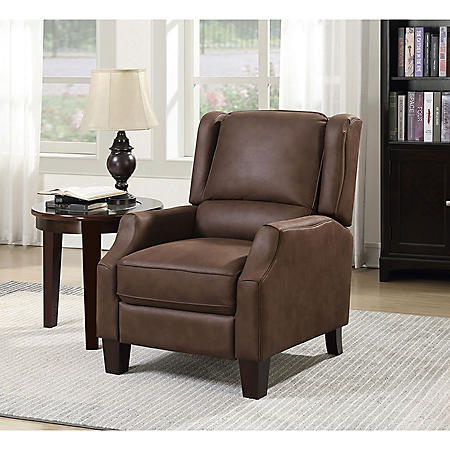 Peyton Transitional Press-Back Recliner (Assorted Colors)