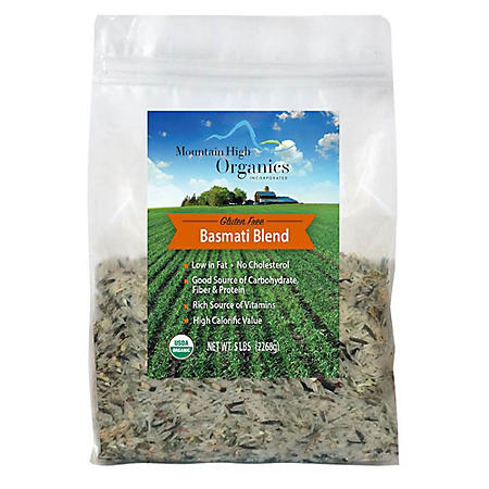 OFFLINE-Basmati Wild Rice Blend (5 lbs.)