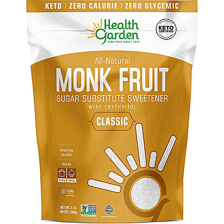 Health Garden Monk Fruit Sweetener (3 lb.)
