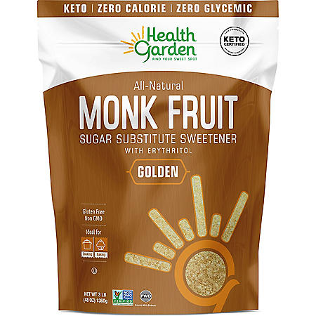Health Garden Monk Fruit Golden Sweetener (3 lb.)
