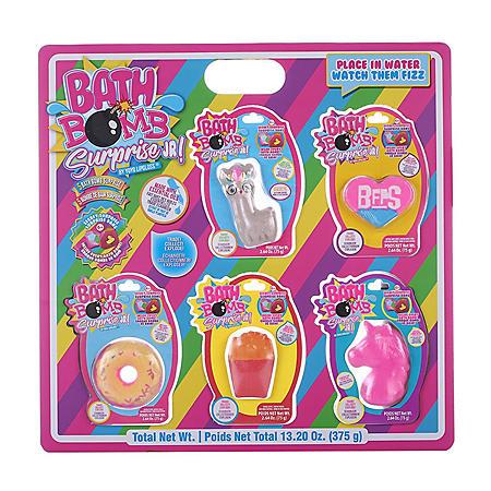 Bath Bomb Surprise 5 Pack