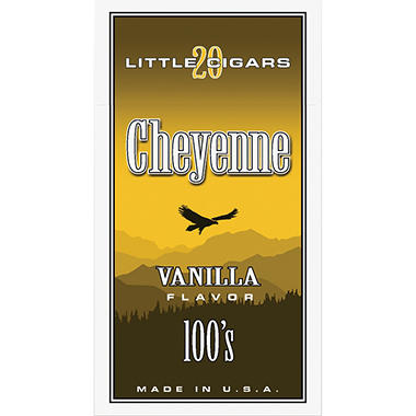 Cheyenne Little Cigars 100's, Vanilla (20 ct., 10 pk.)