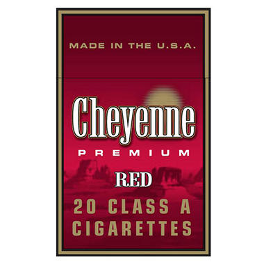 Cheyenne Red King Box 1 Carton