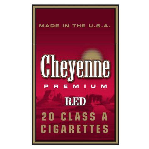 Cheyenne Red King Box 1 Carton