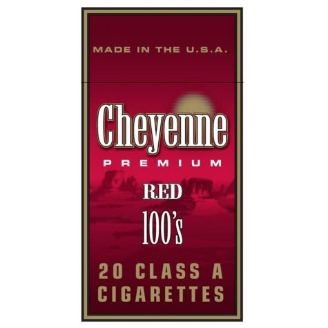 Cheyenne Red 100 Box 1 Carton