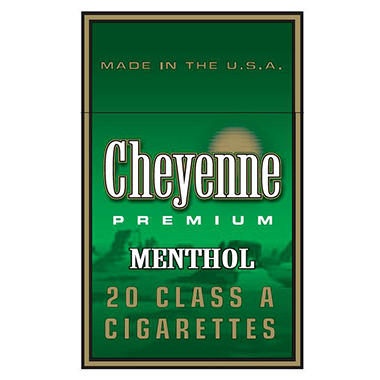 Cheyenne Menthol King Box (20 ct., 10 pk.)