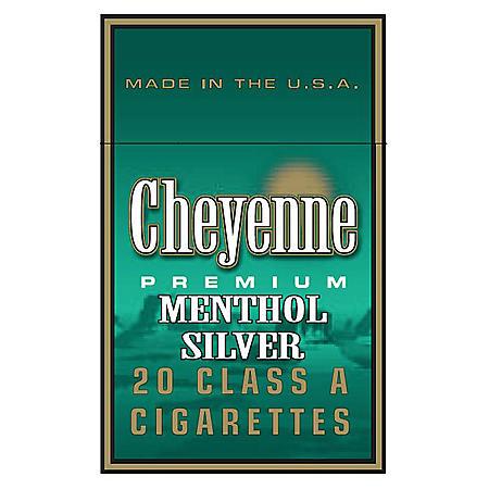 Cheyenne Menthol Silver King Soft Pack 1 Carton
