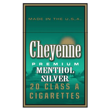 Cheyenne Menthol Silver King Soft Pack 1 Carton