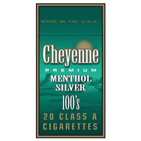 Cheyenne Menthol Silver 100 Box 1 Carton