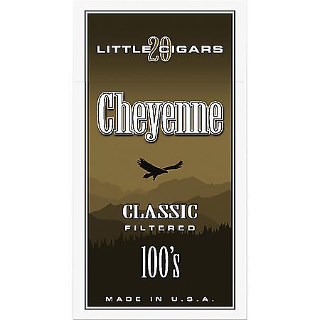 Cheyenne Classic Little Cigars 100's (20 ct., 10 pk.)