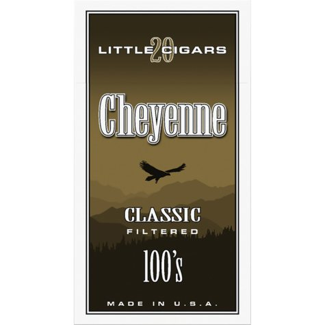 Cheyenne Classic Little Cigars 100's (20 ct., 10 pk.)