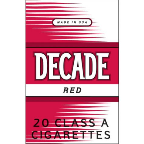 Decade Red 1 Carton