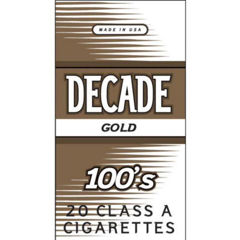 Decade Gold 100s Box (20 ct., 10 pk.)