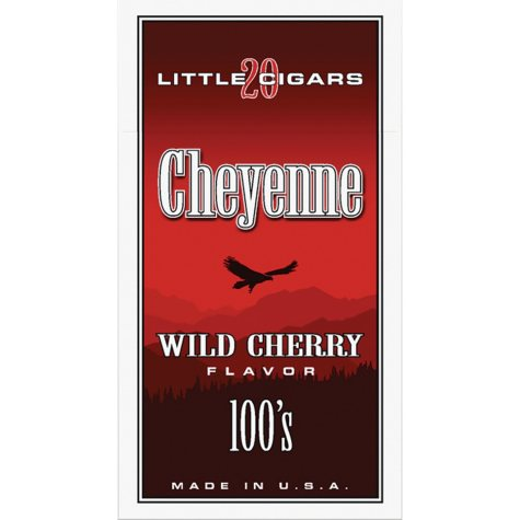 Cheyenne Little Cigars 100's, Wild Cherry (20 ct., 10 pk.)
