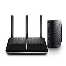 TP-LINK AC2300 Wireless Dual Band Gigabit Router and DOCSIS 3.0 Cable Modem Bundle