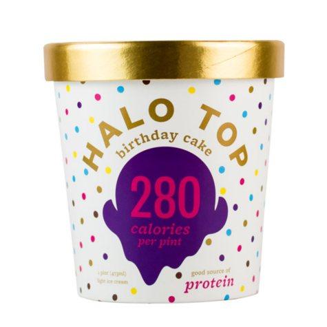 Halo Top Birthday Cake Ice Cream (1 pt. ea., 4 pk.)