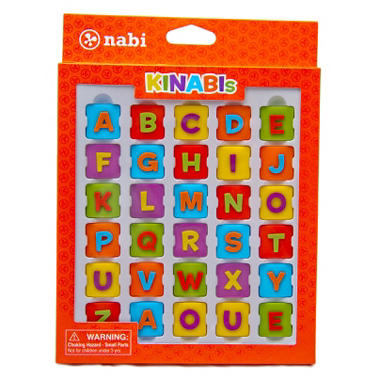 Kinabi Alphabet Pack - Colorful Letters