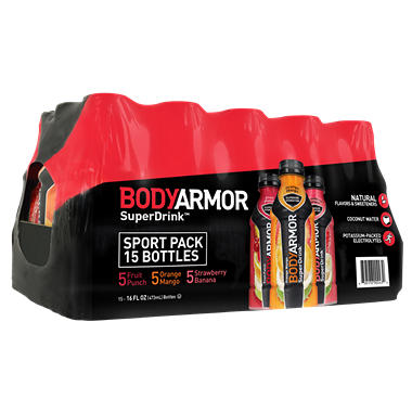 Offline Bodyarmor Sports Drinks Variety Pack 16 Oz 15 Ct