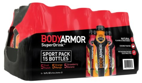 BODYARMOR VP 15/16 OZ BOTTLES