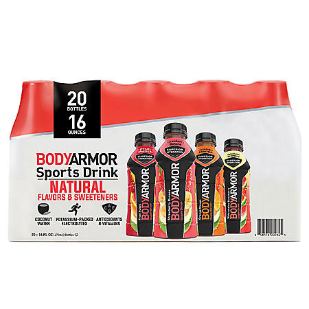 BODYARMOR Sports Drink Variety Pack (16oz / 20pk)