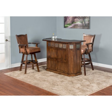 Riodoso Small Bar and Stools, 3-Piece Set