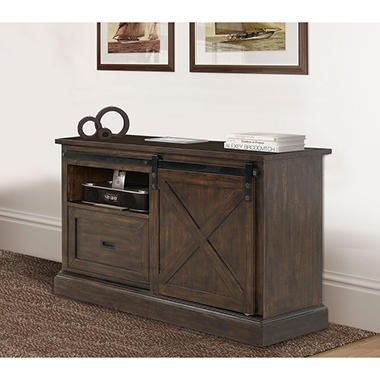 Stage Coach Furniture Collection Aged Bourbon Finish Desk Bookcase And Credenza