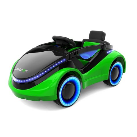 Jetson Moby 12V Kids Electric Ride-on with LED Light-Up Wheels