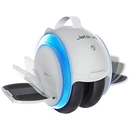Jetson Dual Wheel Electric Self Balancing Scooter - White