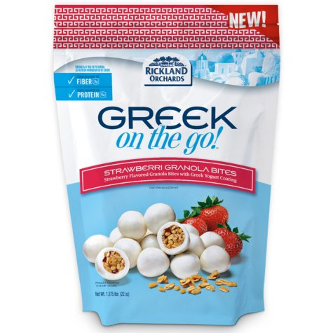 Greek on the Go! Strawberry Granola Yogurt Bites (22 oz.)