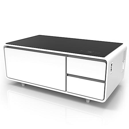 Sobro Smart Coffee Table with Refrigerator Drawer (Assorted Colors)