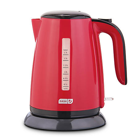 Dash 1.7 Liter Easy Electric Kettle (Assorted Colors)
