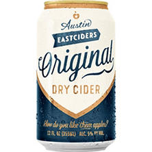 Austin Eastciders Original Dry Cider (12 fl. oz. can, 6 pk.)