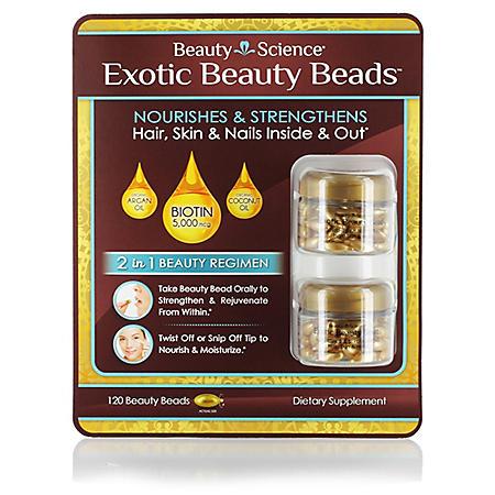 Beauty Science Exotic Beauty Beads (60 ct., 2 pk.)