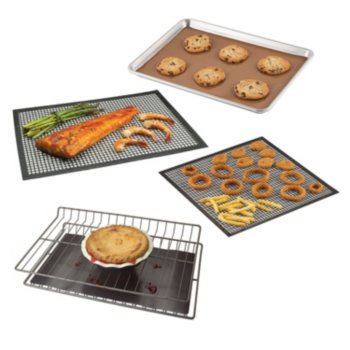 4-Piece Chef's Planet Non-Stick Baking Mats Value Pack